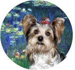 Yorkshire Terrier (#15)<br>in Lilies #5