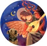 Airedale #2<br>& Angel With Mandolin