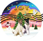 CHRISTMAS MUSIC #2<br>Two Smooth Fox Terriers
