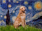 STARRY NIGHT<br>& Golden Retriever #1