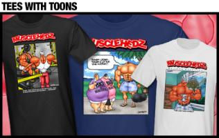 TEES WITH TOONS!