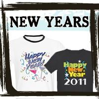 New Years T-shirts, Happy New Year Gifts