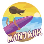 Surf Girl Montauk T-shirts & Surf Wear
