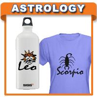 Astrology T-shirts & Zodiac Gifts
