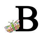 Letter B is for Butterfly T-shirts & Kids Gifts