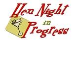 Hen Night in Progress T-shirts & Party Gear