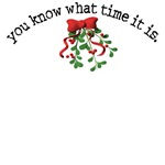 Mistletoe Time T-shirts, Gifts, Clothes