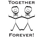 Together Forever Gay T-shirts and Gifts
