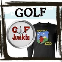 Golf Gifts, Golf Shirts, Golfer T-shirts