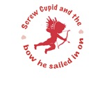 Screw Cupid T-shirts, Anti Valentines Gifts
