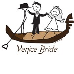 Venice Bride T-shirts, Italy Wedding Gifts