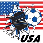 USA Soccer T-shirts, Merch, Swag