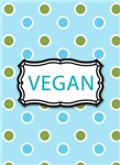 Blue Vegan Jewelry, Charms and Gifts