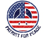 Vintage Patriot For Peace T-Shirts ~ 