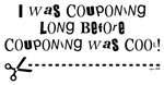 I WAS COUPONING...