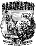 Sasquatch | Statue of Liberty