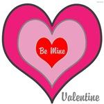 OYOOS Be Mine Valentine design