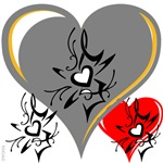 OYOOS Three Hearts design #2