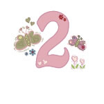 Butterfly Birthdays: 1-5
