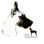 great dane art shirts & on gifts
