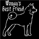 akita womans best friend