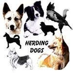 Herding Dog Art by Madeline Wilson