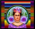 Frida con Zarape.