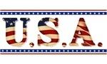 Stars & Strips U.S.A. Patriotic Tees & Gifts