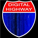 Digital Highway Road Sign