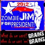 Zombie Jim for President