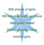 250 Strands of Lights