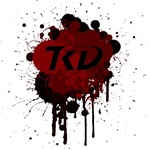 TKD Splatter Dark Red