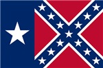 Texas Rebel Confederate Flag