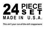 24 Piece Set