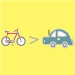 bikes > cars