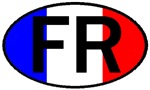 FRANCE II OVAL STICKERS & MORE!