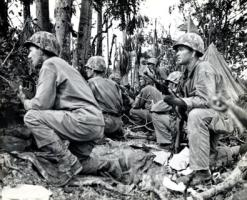 WWII Marines on Peleliu