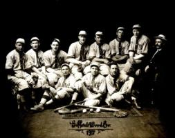 1917 Gifford Wood Baseball Team