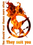 Hunger Games-Flames