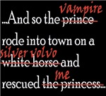 Twilight-Vampire rode in- black