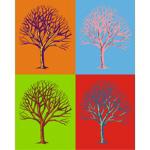 Warhol Print Tree