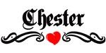 Chester tattoo