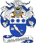 Malagamba Coat of Arms, Family Crest