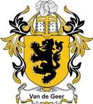 Van de Geer Coat of Arms