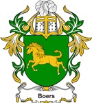 Boers Coat of Arms, Family Crest