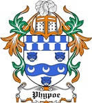 Phypoe Coat of Arms, Family Crest