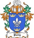 Parry Coat of Arms, Family Crest