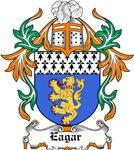 Eagar Coat of Arms, Family Crest