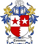 Townes Coat of Arms, Family Crest