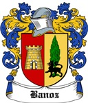 Banoz Coat of Arms, Family Crest